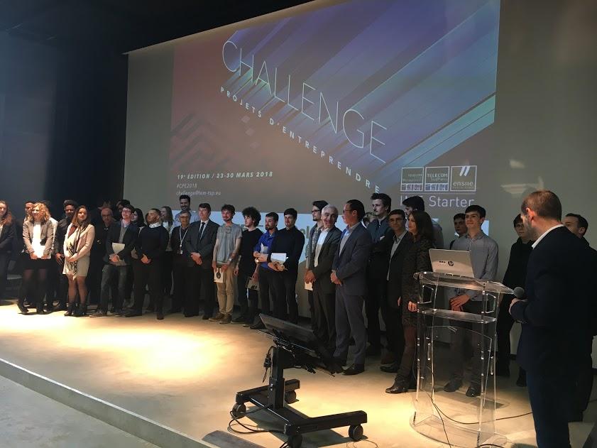 ésultat challenge projet d'entreprendre 2018résultat challenge projet d'entreprendre 2018 IMT-BS