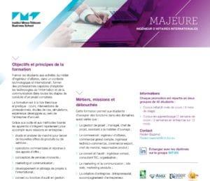 Fiche majeure IAI 300x259 - le Mastère spécialisé® Ingénieur d'Affaires Internationales reçoit la certification RNCP