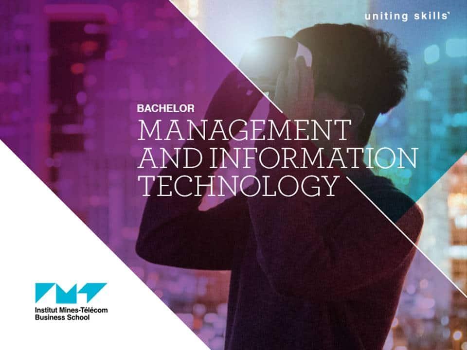 ecole de commerce et de management Bachelor in Management and IT imt-bs