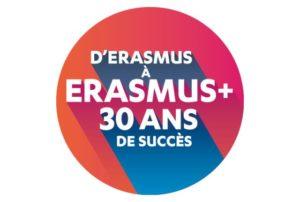 ErasmusPlus 30years Circle FR 72dpi 300x202 - Partir avec Erasmus+