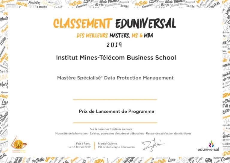 IMT Business DPM Prix de Lancement de Programme 768x545 - MS Data Protection Management
