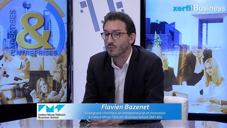 Flavien Bazenet - creativite - chaire inventivités digitales - Capture écran interview Xerfi - IMT-BS