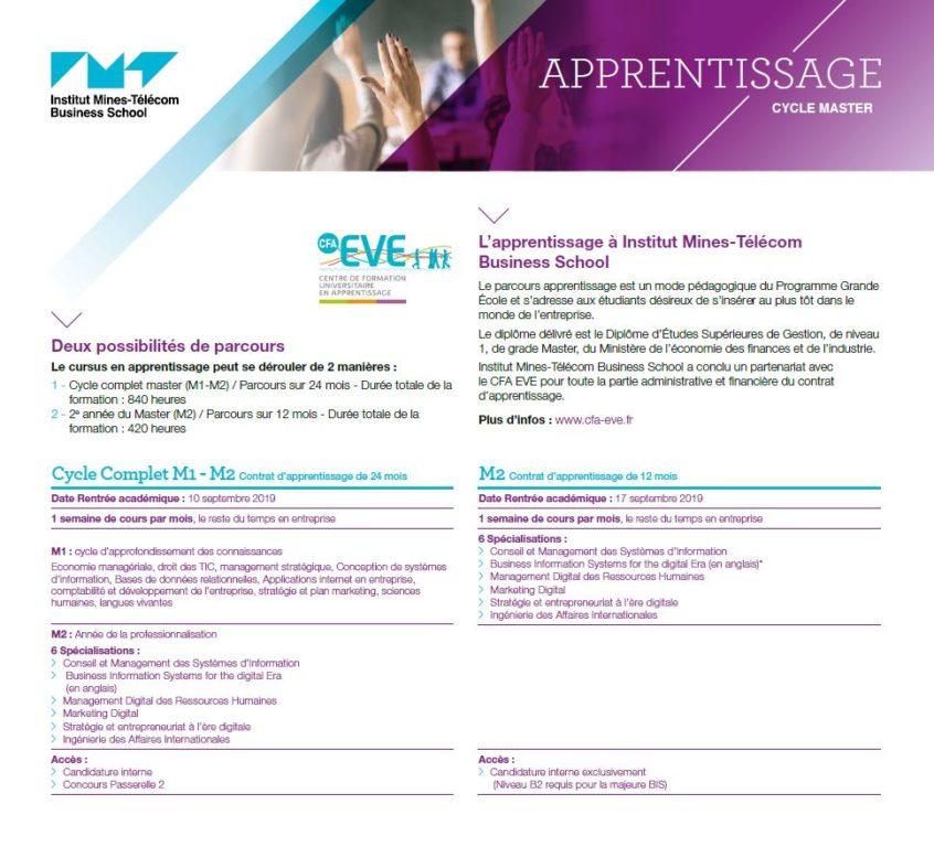 Fiche Apprentissage IMTBS
