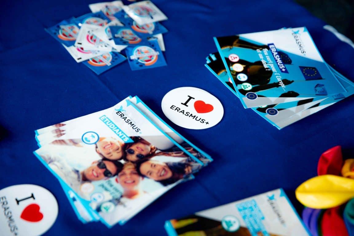 ErasmusDays 2019 Goodies Erasmus IMT BS 1152x768 - ErasmusDays 2019 : l'Europe mise à l'honneur