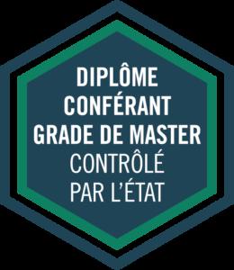 PGE Formation certifiée par l'état grade de master