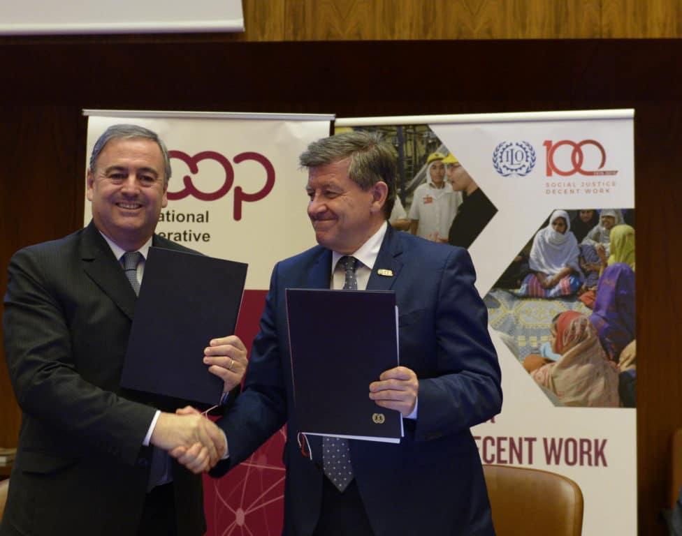 OIT et ACI - Le rôle des coopératives dans l'avenir du travail - IMTBS