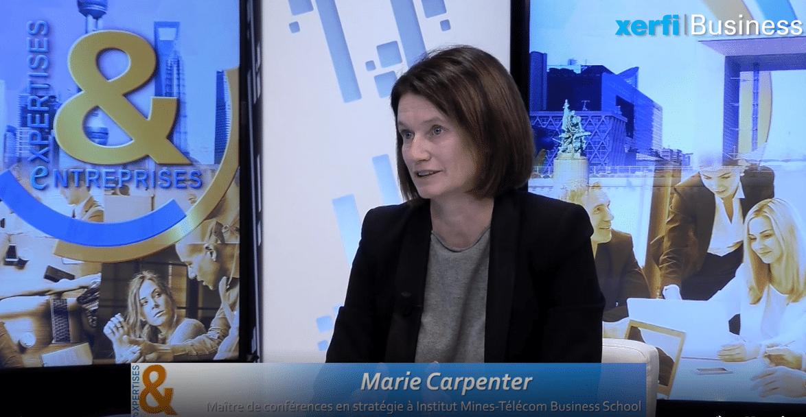 Capture écran Marie Carpenter - IMT-BS