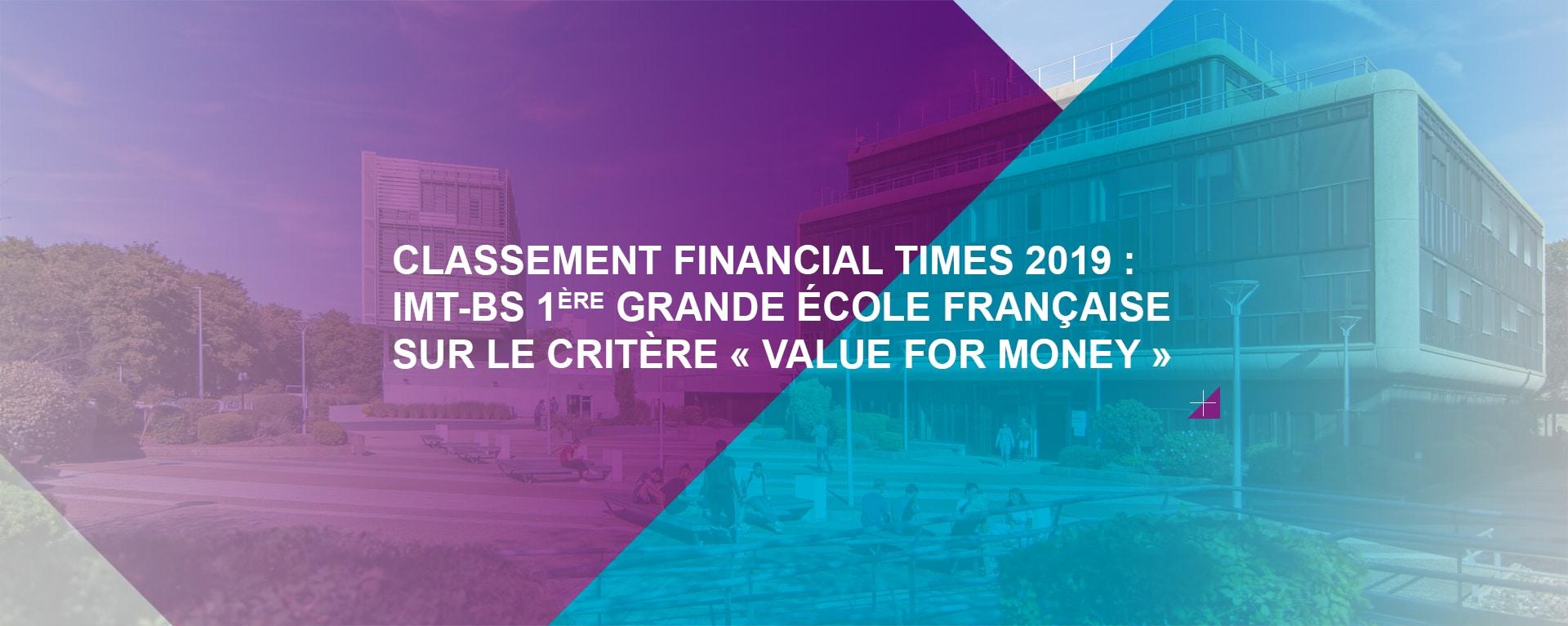 Classement Financial Times 2019