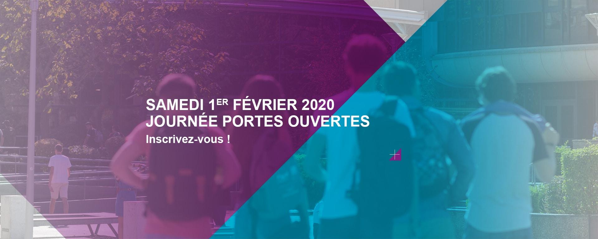 Journée Portes Ouvertes 2020