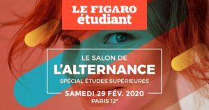 Salon Alternance Figaro Etudiant 300x158 - Salon de l'Alternance spécial Etudes Supérieures