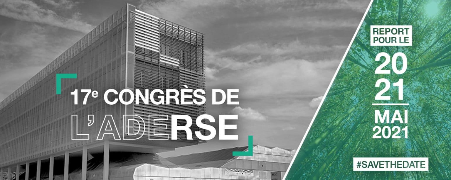17ème Congrès de l'ADERSE à distance - 20 & 21 mai 2021