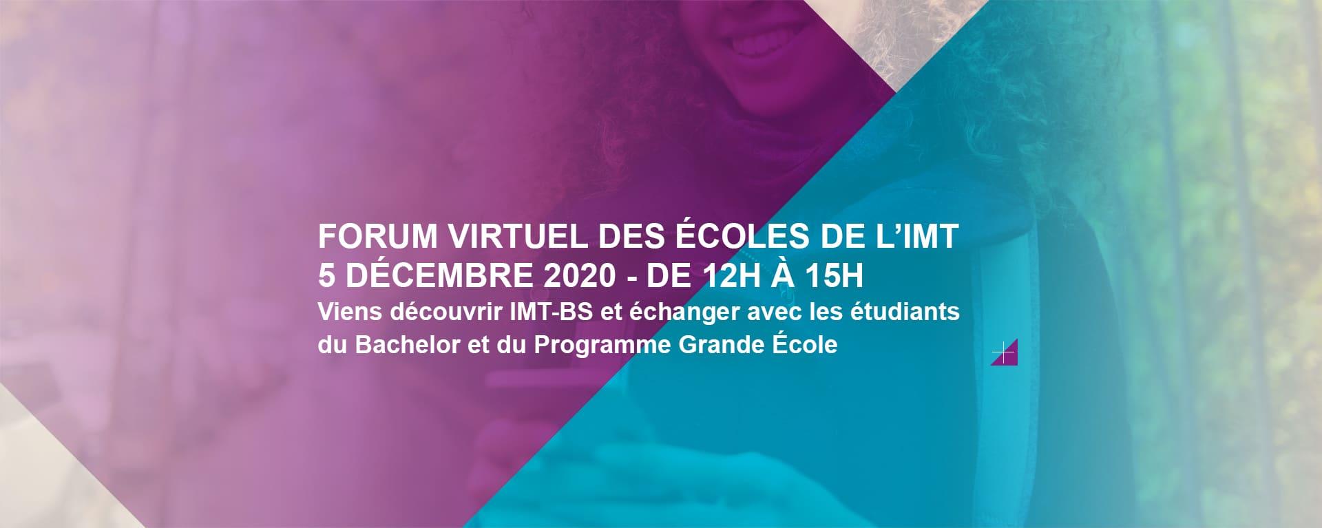Forum virtuel des écoles de l'IMT