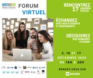 Concours Mines-Télécom _ Forums virtuels