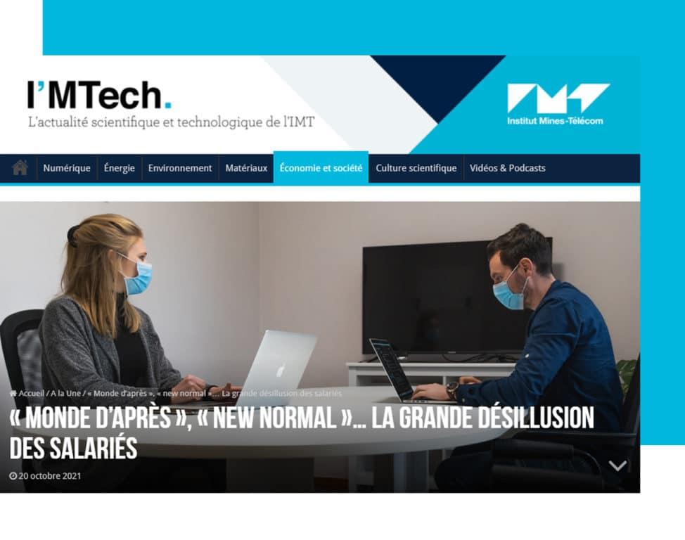 Article Aurelie Dudezert IM'Tech