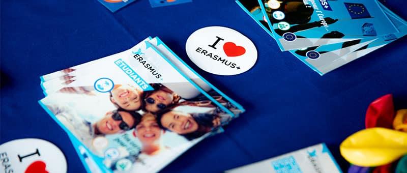 Erasmus illustration partir à l'international